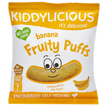 Picture of KIDDYLICIOUS Banana Fruity Puffs