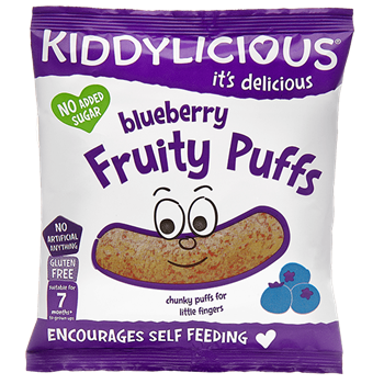 Picture of KIDDYLICIOUS Blueberry Fruity Puffs
