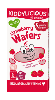 Picture of KIDDYLICIOUS Strawberry Wafers