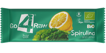 Picture of Go4Raw Spirulina & Lemon Bar