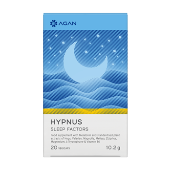 Picture of AGAN HYPNUS SLEEP FACTORS 20VEGCAPS