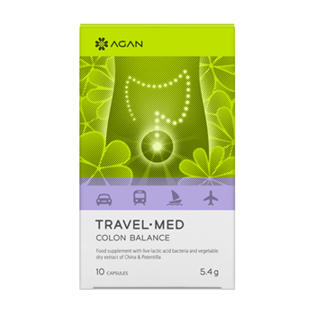 Picture of AGAN TRAVEL MED - COLON BALANCE 10caps