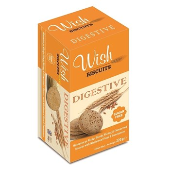 Picture of WISH, Biscuits Digestive 220g