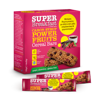 Picture of SUPER BREAKFRAST, Carob Syrup, Power Fruits 25g