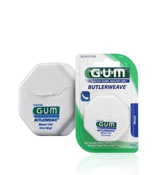 Picture of GUM 1155 Butlerweave Floss Waxed Οδοντικό νήμα 55m
