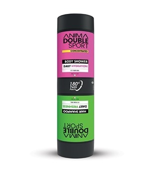 Picture of ANIMA DOUBLE SPORT BODY SHOWER HYDRATION + HAIR SHAMPOO 170ML & 170ML