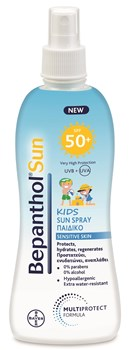 Picture of BEPANTHOL Sun Παιδικό Αντηλιακό Spray SPF50+ 200ml