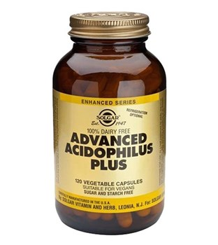 Picture of SOLGAR Advanced Acidophilus Plus 120 veg caps
