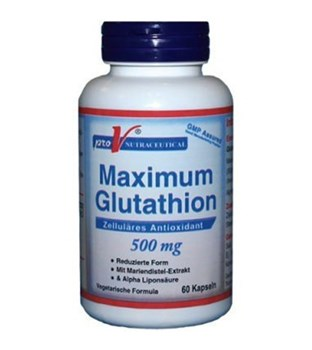Picture of Pro V Nutraceutical Max Glutathion 500mg 60 caps
