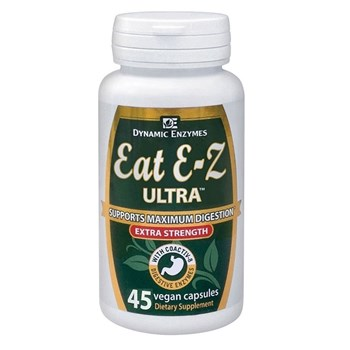 Picture of DYNAMIC ENZYMES Eat E-Z Ultra 45Veg.Caps