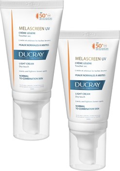 Picture of DUCRAY Melascreen Creme Legere SPF50+ 2x40ml