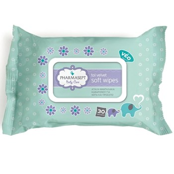 Picture of PHARMASEPT Baby Care Soft Wipes 30τμχ