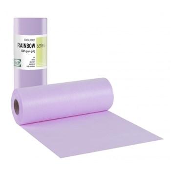 Picture of ΟΔΟΝΤΙΑΤΡΙΚΟ Ρολό 1ply χαρτί + 1ply πλαστικό 29cm x 50m Μωβ