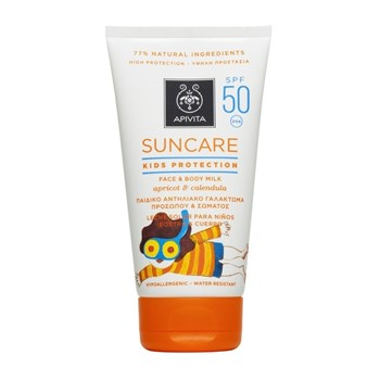 Picture of APIVITA Suncare Kids Protection Face & Body Milk SPF50