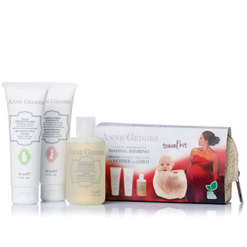 Picture of ANNE GEDDES Travel Kit for Mother and Child 3τμχ