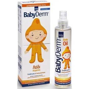 Picture of INTERMED Babyderm Body Oil 200ml