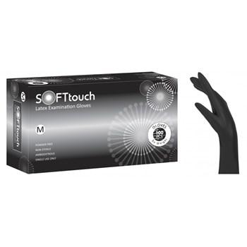 Picture of ΓΑΝΤΙΑ Soft Touch μαύρο χωρίς πούδρα 100 τεμάχια