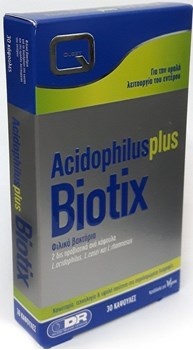 Picture of QUEST Acidophilus Plus Biotix 30 caps