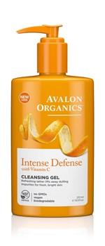 Picture of AVALON ORGANICS Intense Defense Cleansing Gel 251ml