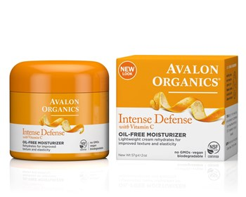 Picture of AVALON ORGANICS Intense Defense Oil-Free Moisturizer 57gr