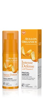 Picture of AVALON ORGANICS Intense Defense Facial Serum 30ml