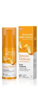 Picture of AVALON ORGANICS Intense Defense Eye Cream 29gr