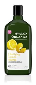 Picture of AVALON ORGANICS Clarifying Lemon Shampoo 325ml