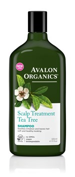 Picture of AVALON ORGANICS Scalp Treatment Tea Tree Shampoo 325ml