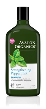 Picture of AVALON ORGANICS Strengthening Peppermint Shampoo 325ml