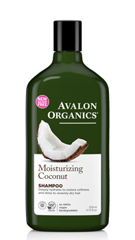 Picture of AVALON ORGANICS Moisturizing Coconut Shampoo 325ml