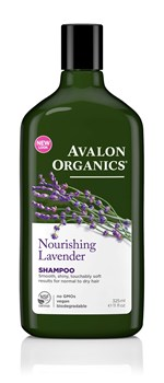 Picture of AVALON ORGANICS Nourishing Lavender Shampoo 325ml
