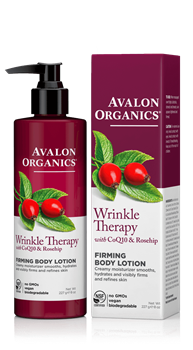 Picture of AVALON ORGANICS Wrinkle Therapy Firming Body Lotion 227gr