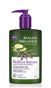 Picture of AVALON ORGANICS Brilliant Balance Cleansing Gel 237ml
