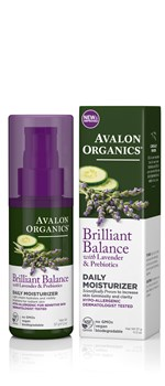Picture of AVALON ORGANICS Brilliant Balance Daily Moisturizer 57gr
