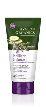Picture of AVALON ORGANICS Brilliant Balance Enzyme Scrub 113gr