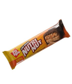 Picture of FIT SPO NutriNut Peanut & Caramel Protein Bar 55gr