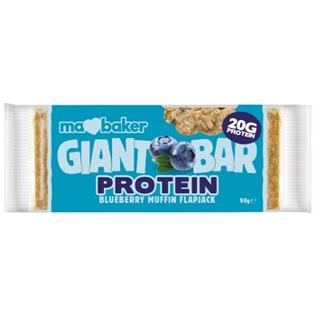 Picture of MA BAKER Giant Protein Bar Blueberry Muffin Flapjack 90gr