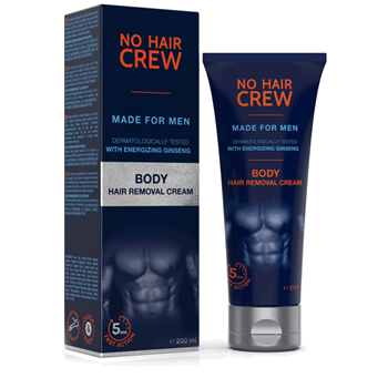 Picture of NO HAIR CREW Body Hair Removal Cream 200ml