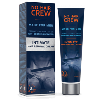 Picture of NO HAIR CREW Intimate Hair Removal Cream 100ml