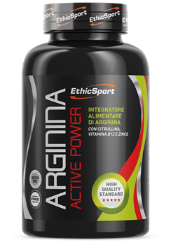 Picture of ETHICSPORT Arginina Active Power 1500mg 90 tabs