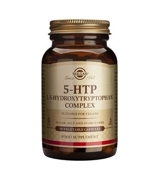 Picture of SOLGAR 5-HTP (5-ΥΔΡΟΞΥ-ΤΡΥΠΤΟΦΑΝΗ / HYDROXYTRYPTOP) 100mg 90VegCaps