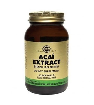 Picture of SOLGAR Acai Extract 60 Softgels