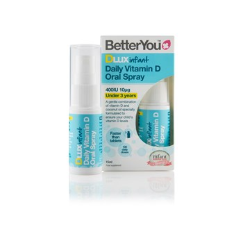 Picture of BETTERYOU DLux Infant Daily Vitamin D Oral Spray 15ml