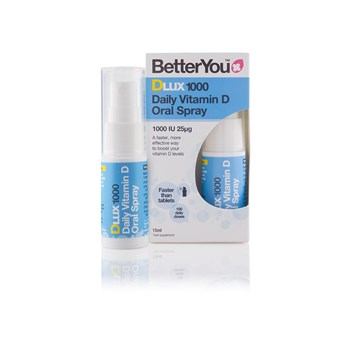 Picture of BETTERYOU DLux 1000 Daily Vitamin D Oral Spray 15ml
