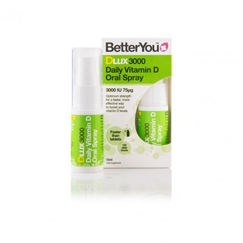 Picture of BETTERYOU DLux 3000 Daily Vitamin D Oral Spray 15ml