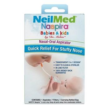 Picture of NEILMED Naspira Babies & Kids Nasal-Oral Aspirator 1τμχ