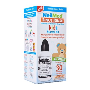 Picture of NEILMED Sinus Rinse Kids Pediatric Starter Kit (1 φιάλη & 30 φακελίσκοι)