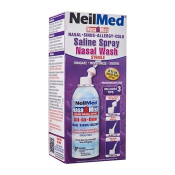 Picture of NEILMED NasaMist Saline Spray Nasal Wash 177ml