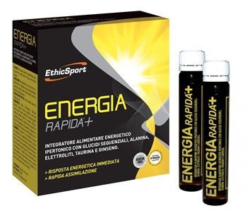 Picture of ETHICSPORT Energia Rapida+ 10 φιαλίδια x 25ml