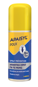 Picture of APAISYL Poux Prevention Spray 90ml